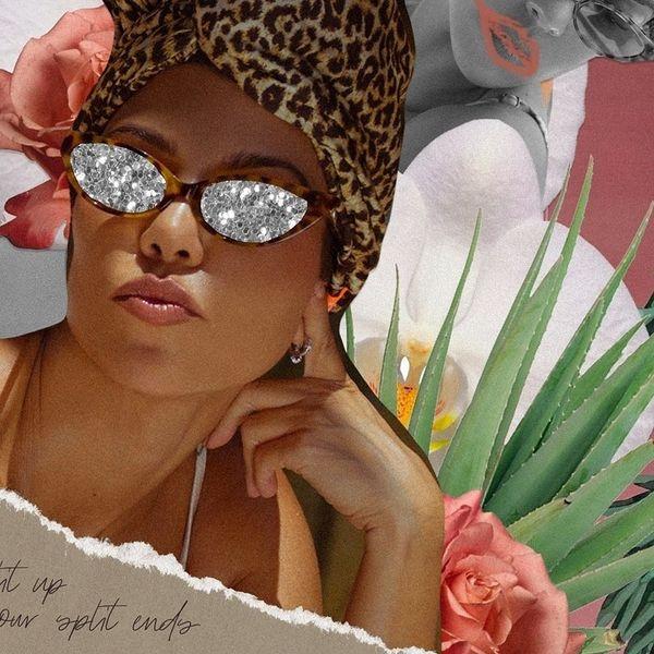 Poosh the Limit in Kourtney Kardashian's Leopard Turban