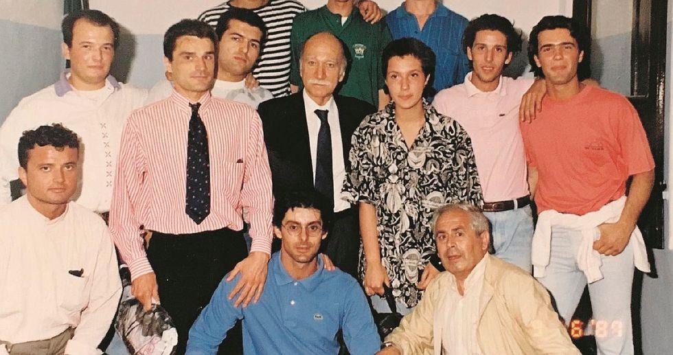 Una foto inchioda Gozi al suo passato missino