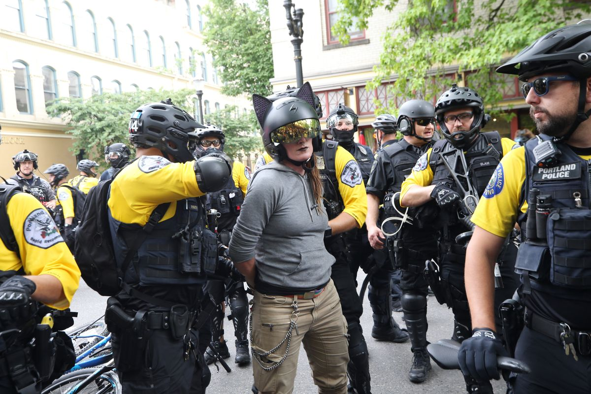 What Happened at the Portland Protests