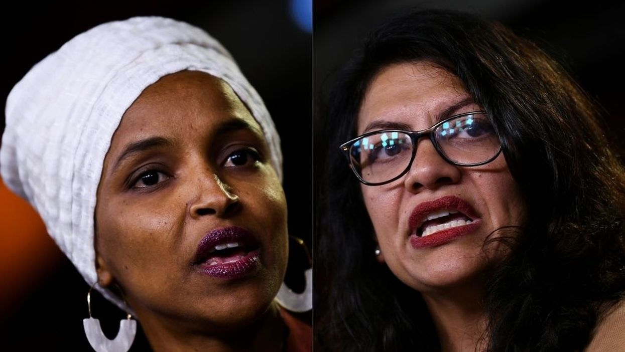 Ilhan Omar, Rashida Tlaib post vile cartoon by artist who competed in Iranian Holocaust denial contest