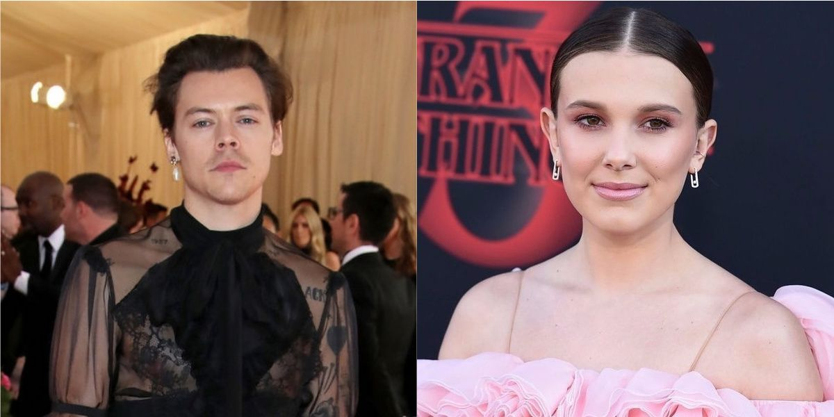 Harry Styles And Millie Bobby Brown Danced Together At An Ariana Grande Show