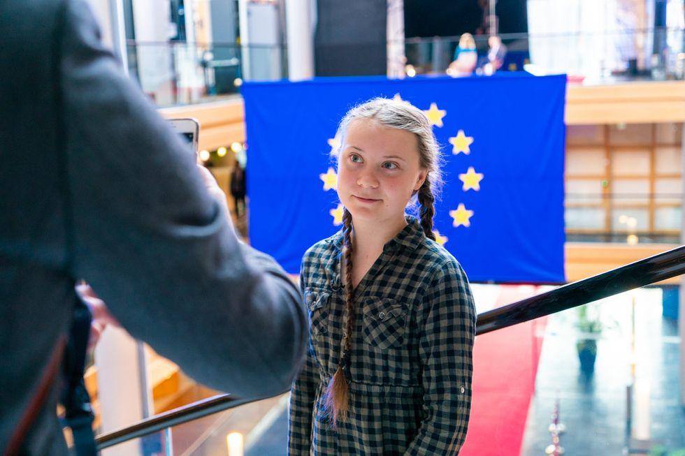 16-Year-Old Greta Thunberg Isn't 'All At Sea,' Her Life Is Anchored In Activism