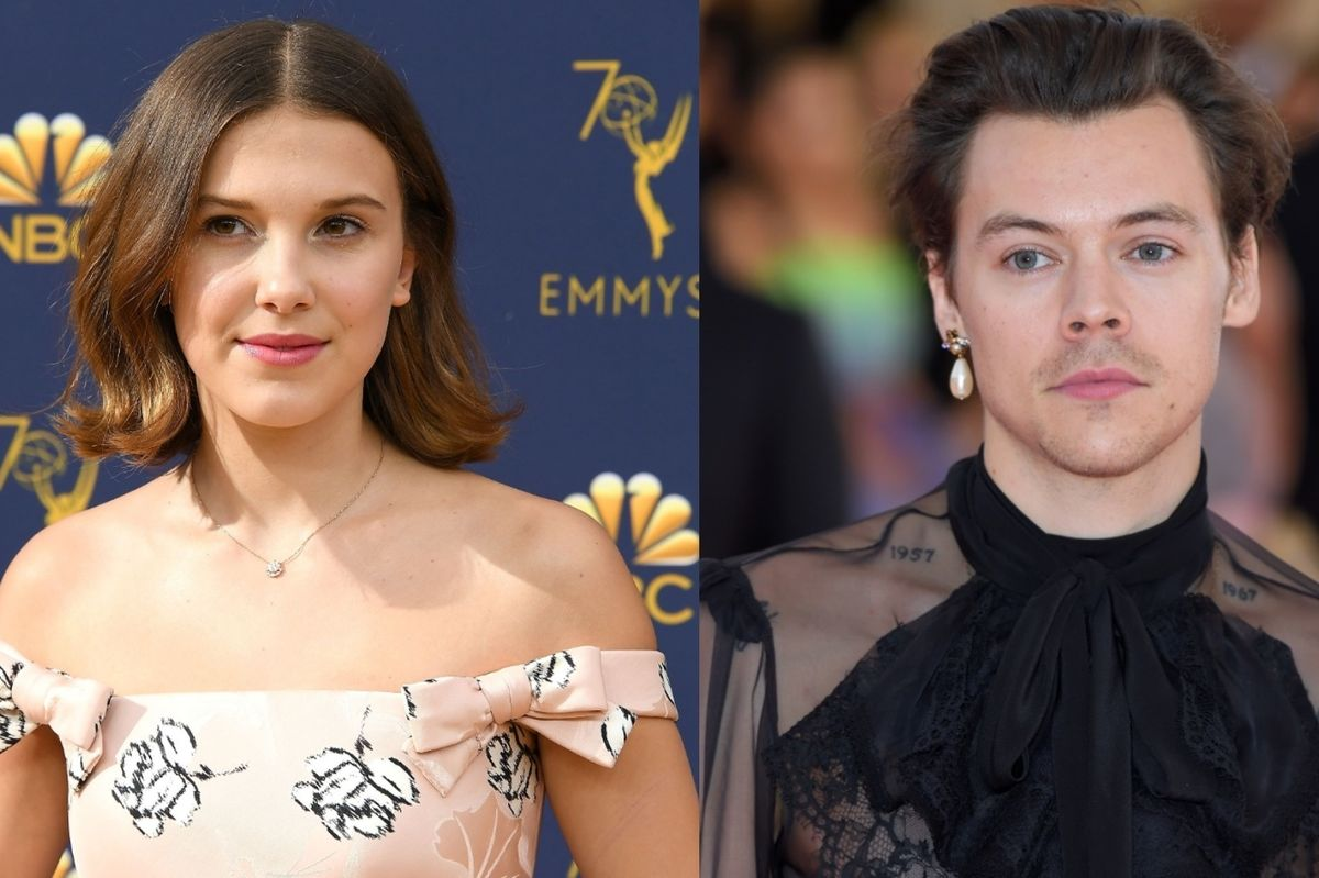 Harry Styles and Millie Bobby Brown Are BFFs Now