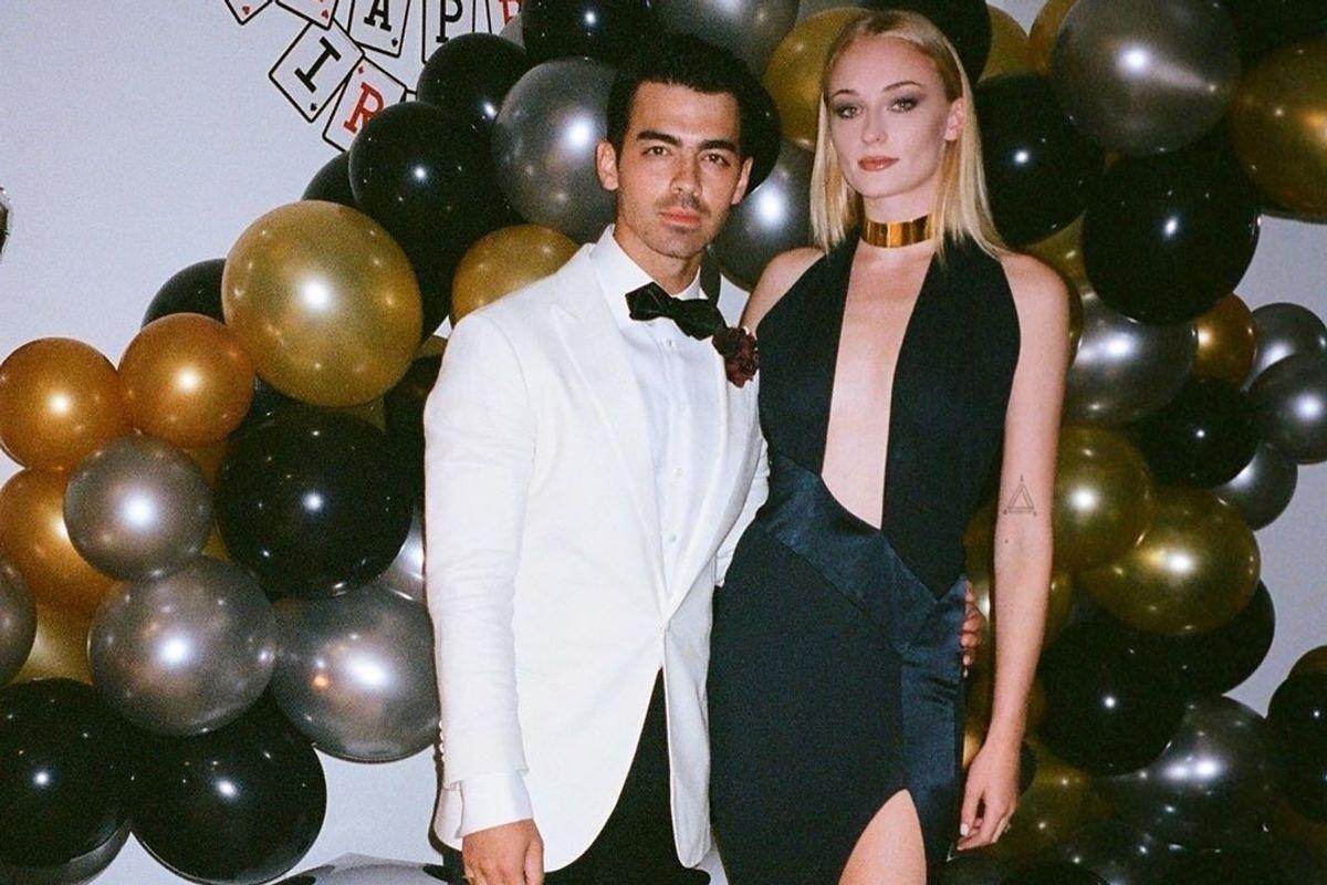 Sophie Turner Went Bond Girl For Joe's 30th Birthday Party