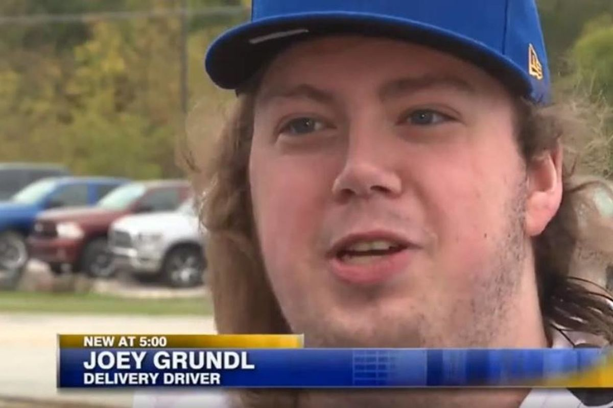Pizza guy whose quick thinking saved a woman's life gets the reward of a lifetime