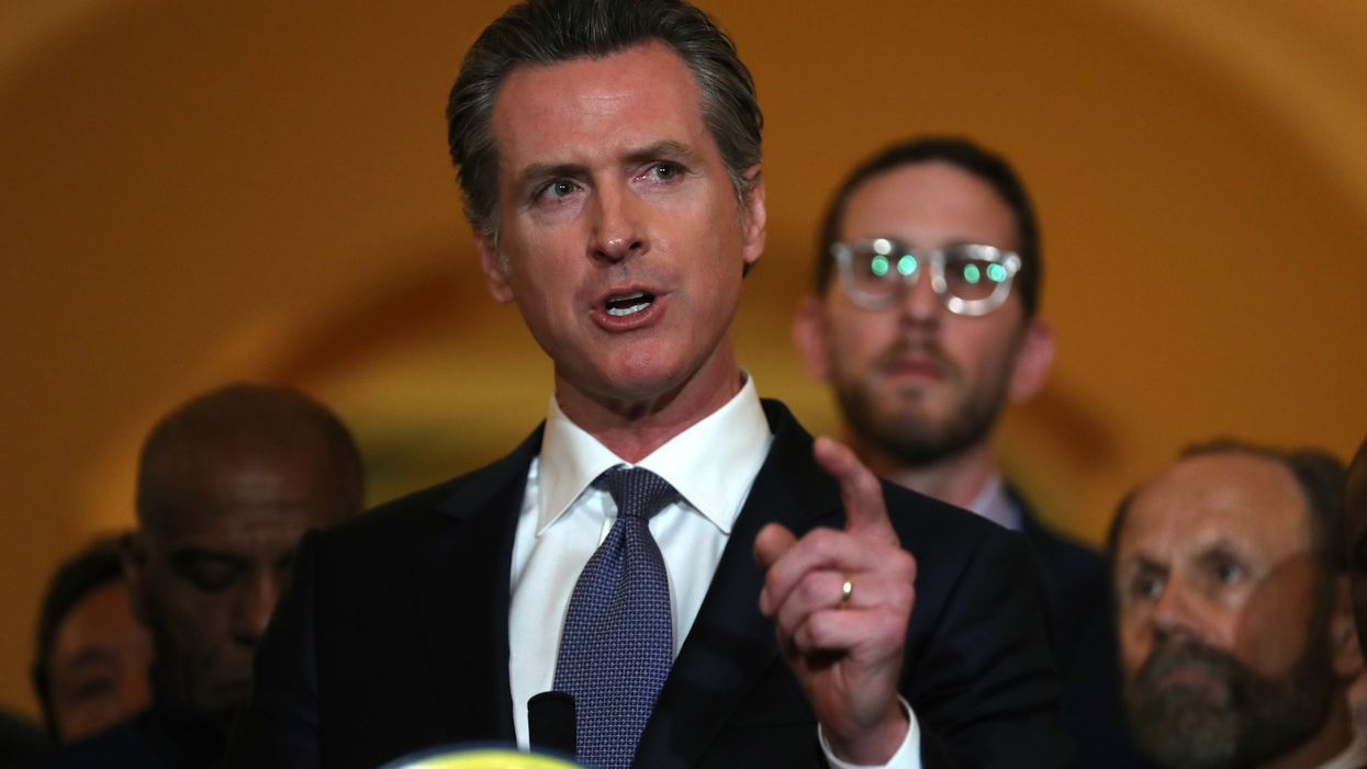 California governor blames Trump, GOP for recent shooting in profanity-laced rant