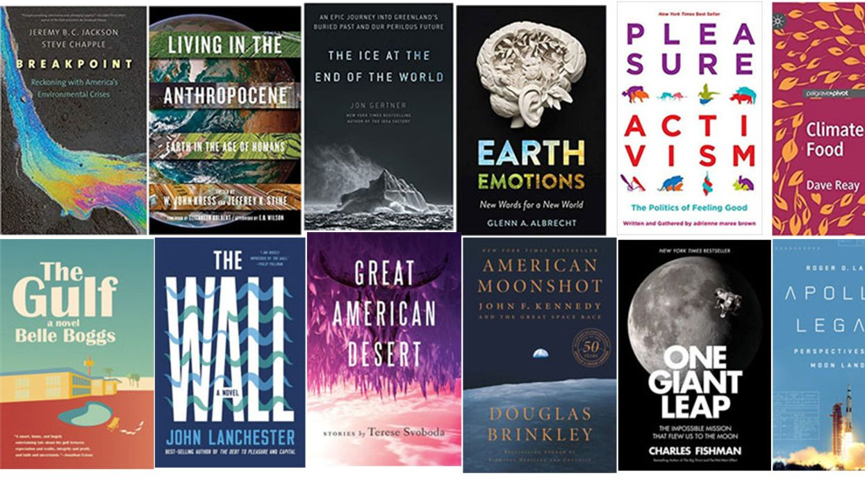 12 Summer Escapes: Books on Earth's Climate and Beyond