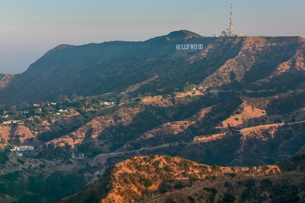 Hollywood Hills sign in L.A.