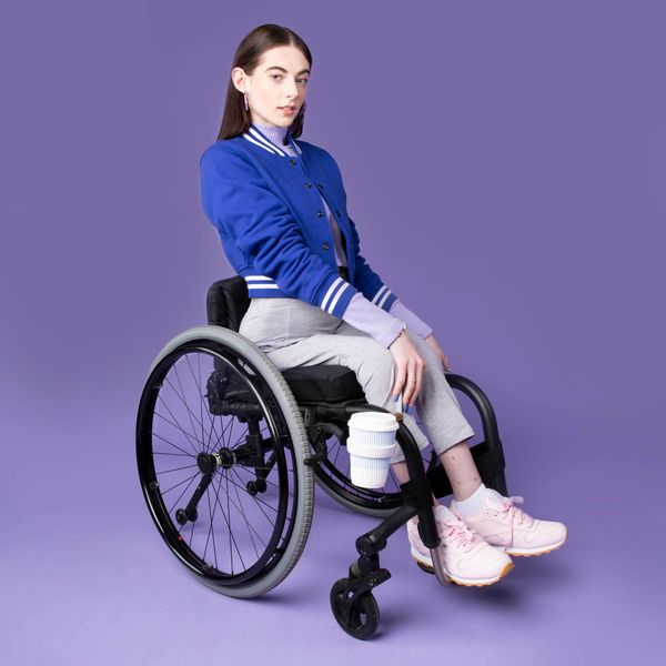 The Designer Making Chic, Wheelchair-Attachable Accessories