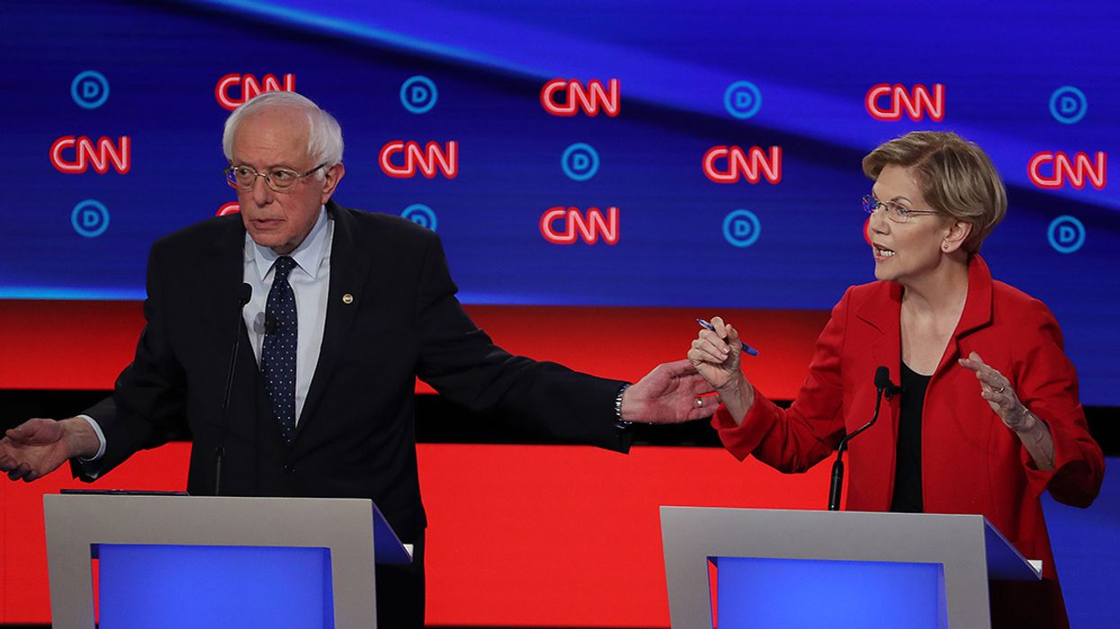 Progressive and Moderate Dems Spar Over Green New Deal at First Debate