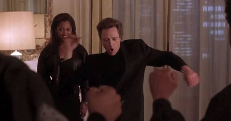 Christopher Walken dancing in over 50 movies all perfectly spliced into a single music video.