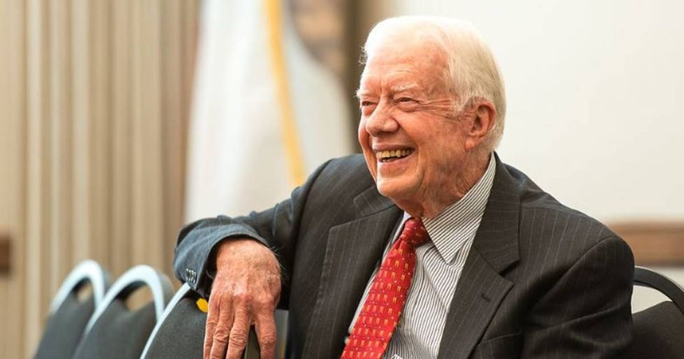 Jimmy Carter says Russian election interference makes Trump an 'illegitimate president.'
