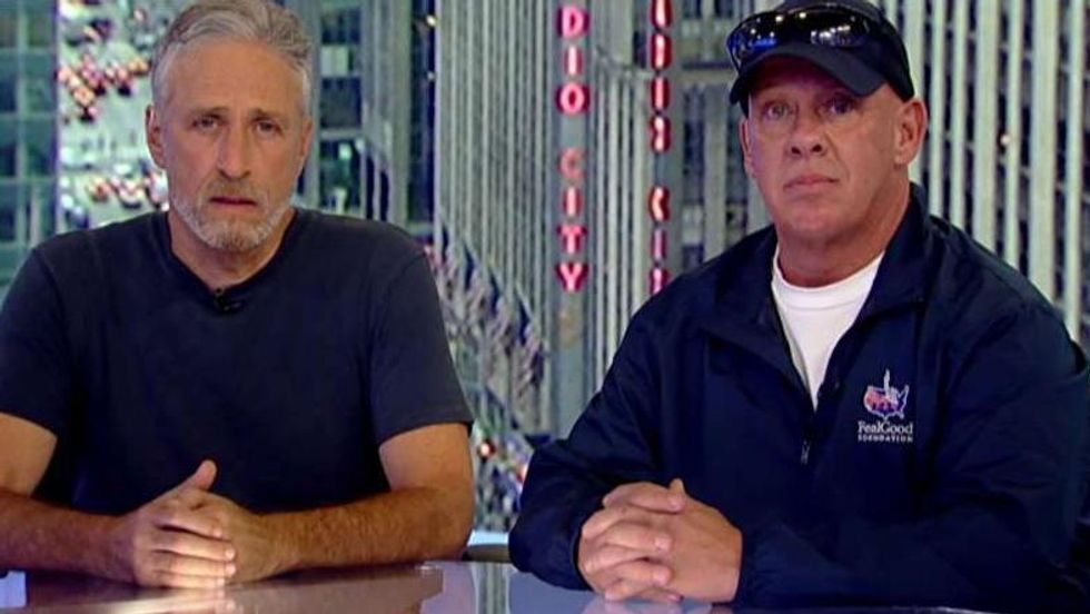Jon Stewart forced to remind Congress of basic decency yet again after Rand Paul blocks 9/11 victim compensation bill.
