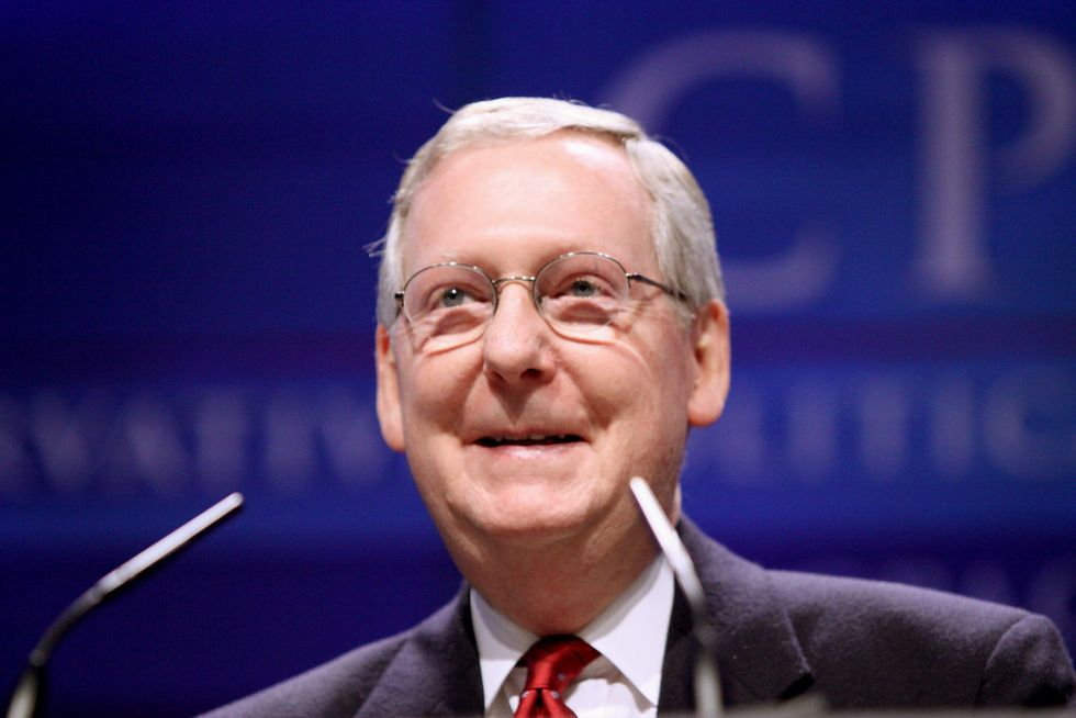 Coal miners with black lung disease slam Mitch McConnell after brushing them off during two-minute meeting