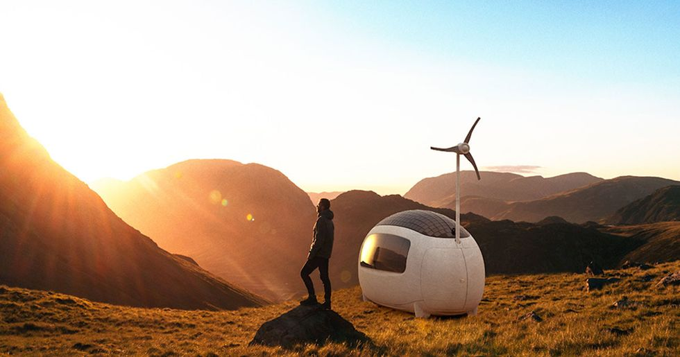 Self-sustainable egg-shaped microhomes are the RVs of the future