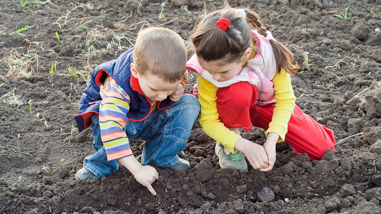 What's the Scoop on Kids and Dirt? Get Enough to Help, but Not Enough to Hurt, a Doctor Advises