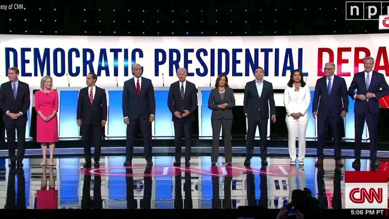 Democratic Candidates Spent 13 Minutes on Climate Change in Second Presidential Debate