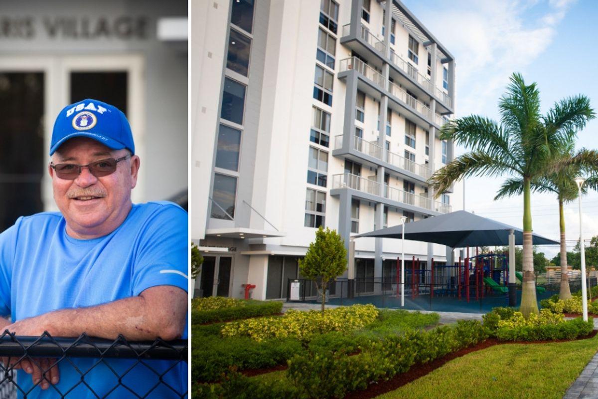 He was a homeless veteran. Karis Village offered him not just a home, but a community.