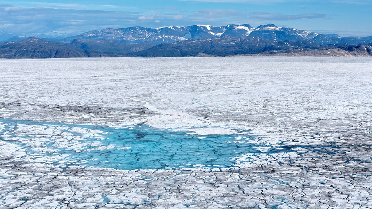 Greenland Melts at Never-Before Seen Rates as Heat Wave That Baked Europe Moves North