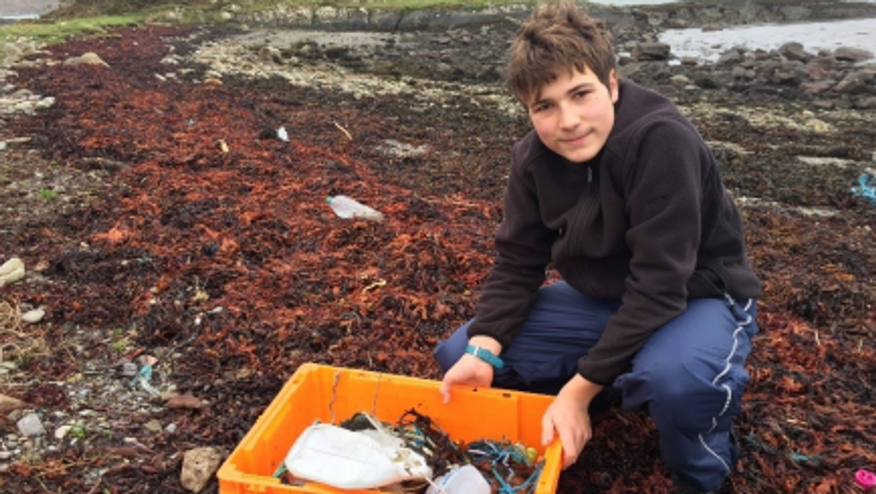 Irish teen wins Google Science Fair for method to remove microplastics from water