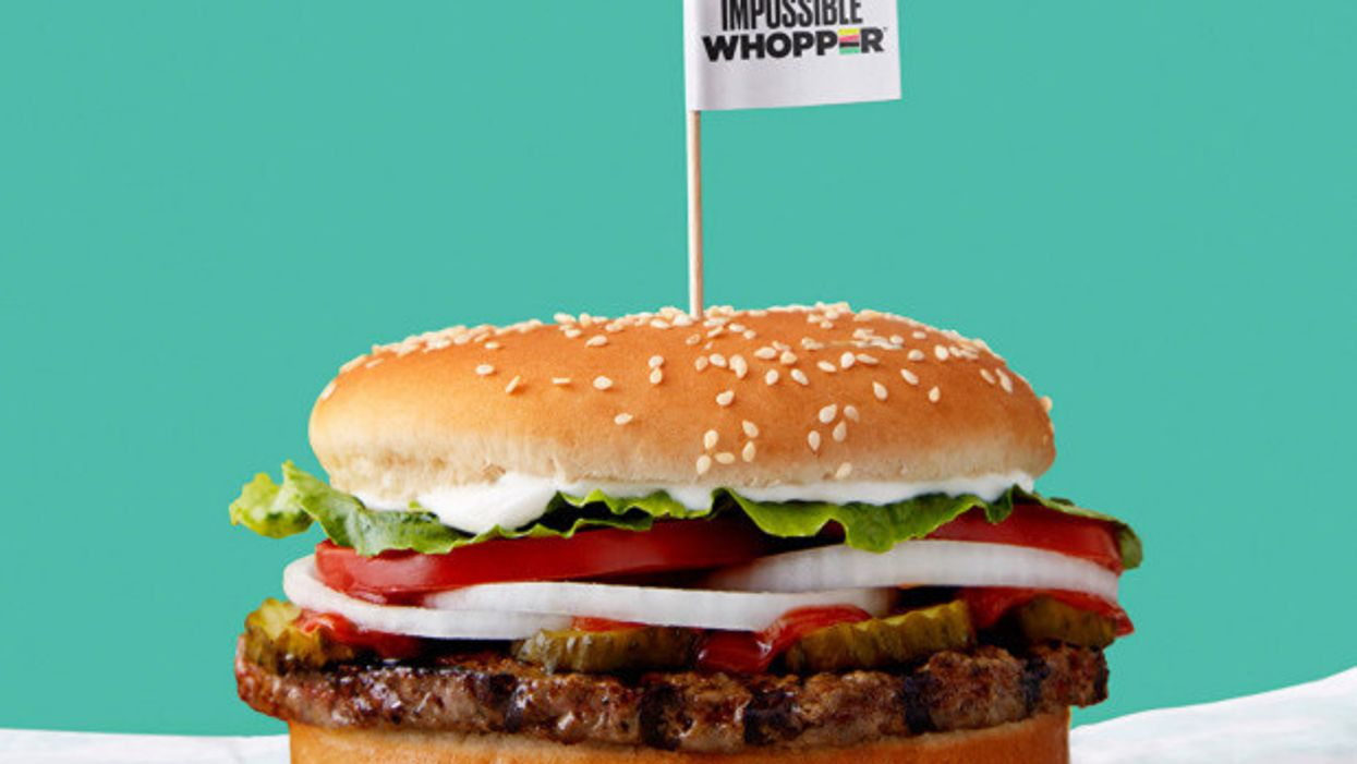 Impossible Whopper, the 'meatless burger,' is coming to every Burger King nationwide
