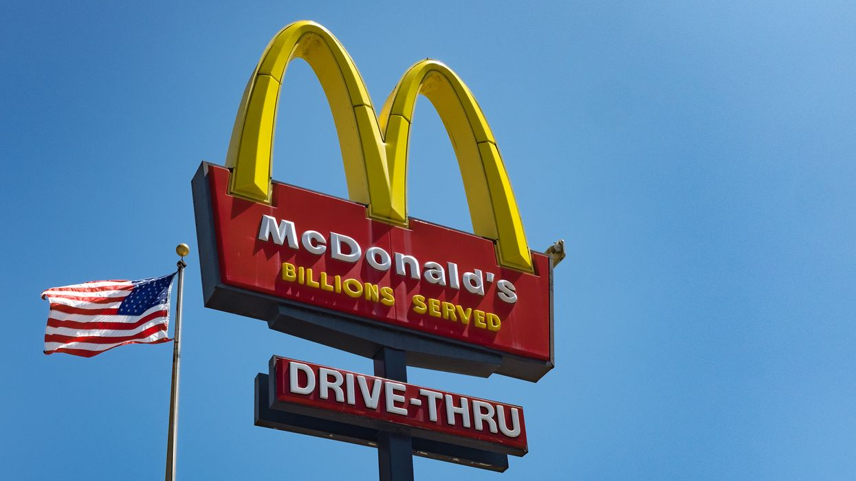 A McDonald's worker fired after refusing to serve paramedics because they were in uniform