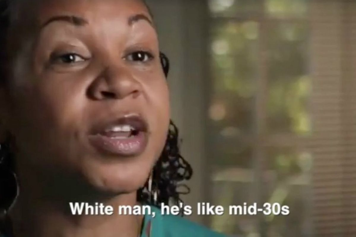 An awkward conversation in a movie theater became a moment of change about race