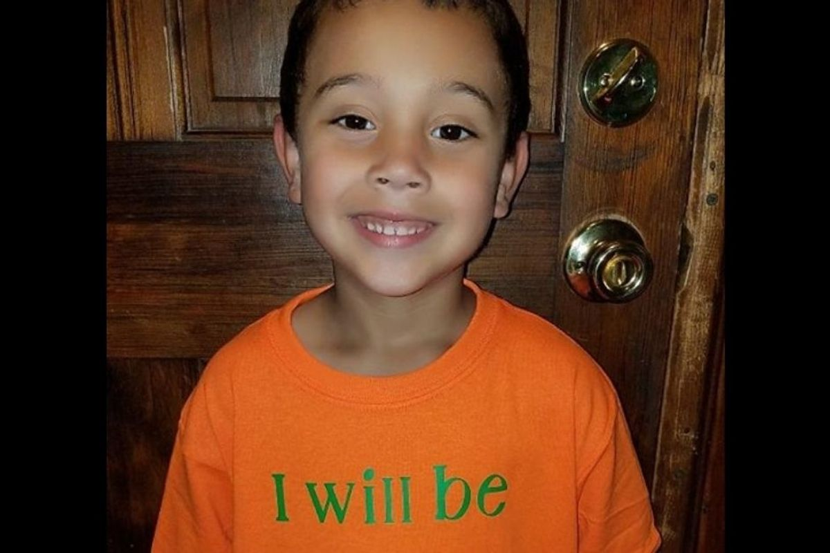A 6-year-old designed a custom t-shirt for his first day of school and it's seriously the best