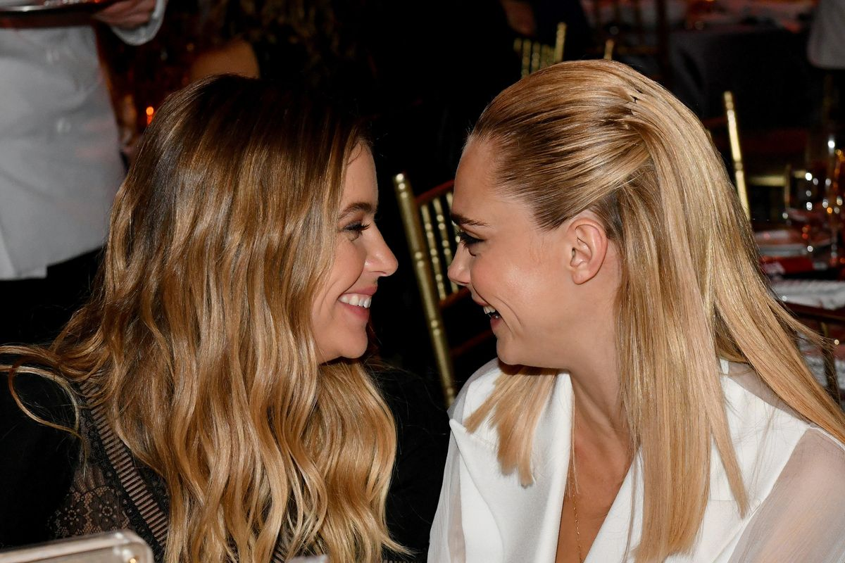 Cara Delevingne and Ashley Benson Had a 'Friendship Ceremony' in Vegas