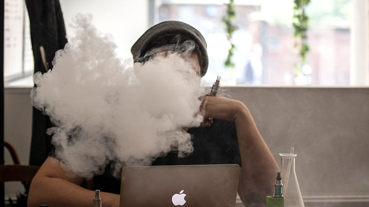 Vaping Leads to 14 Hospitalizations in Two States