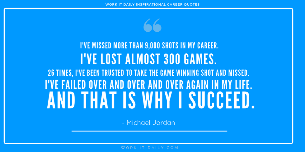 Inspirational Career Quotes Michael Jordan