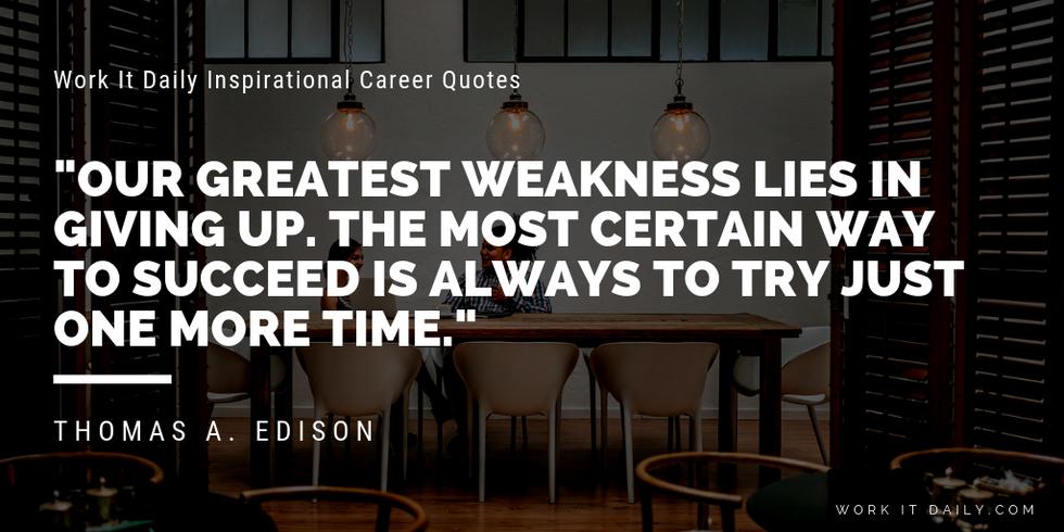 Inspirational Thomas Edison Quotes