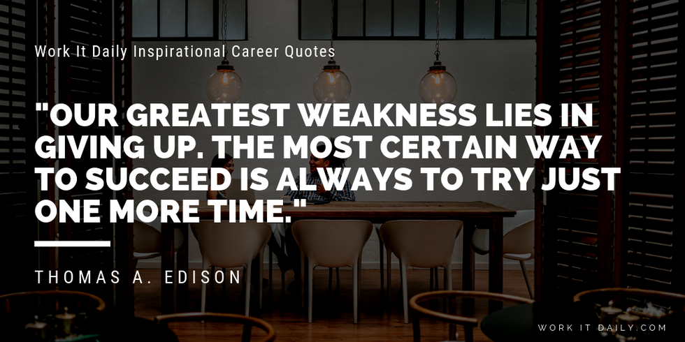 Inspirational Thomas Edison Quotes