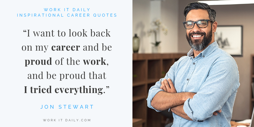 Inspirational Career Quotes Jon Stewart