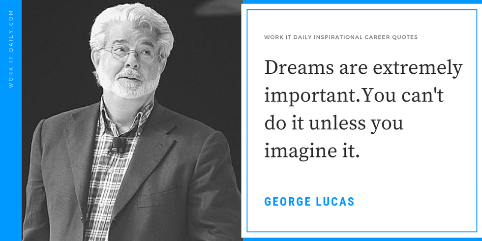 Inspirational Quotes George Lucas