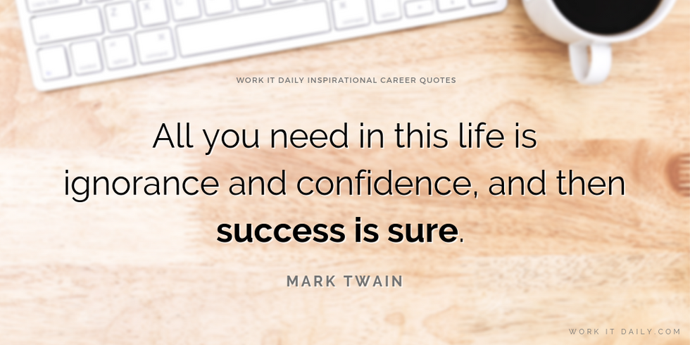 Inspirational Career Quotes About Success