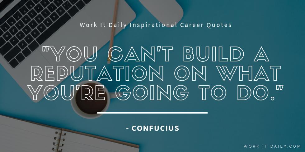 Inspirational Career Quotes Confucius
