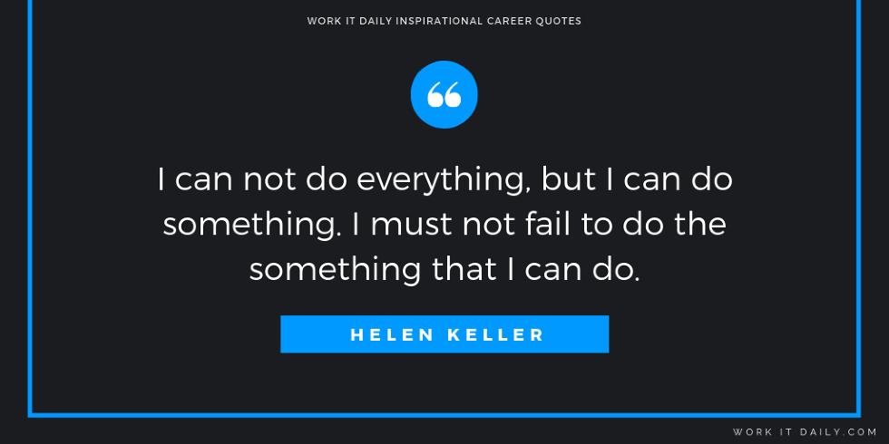 Inspirational Career Quotes