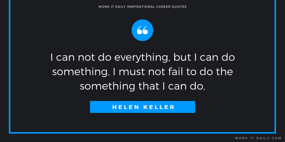 Inspirational Career Quotes