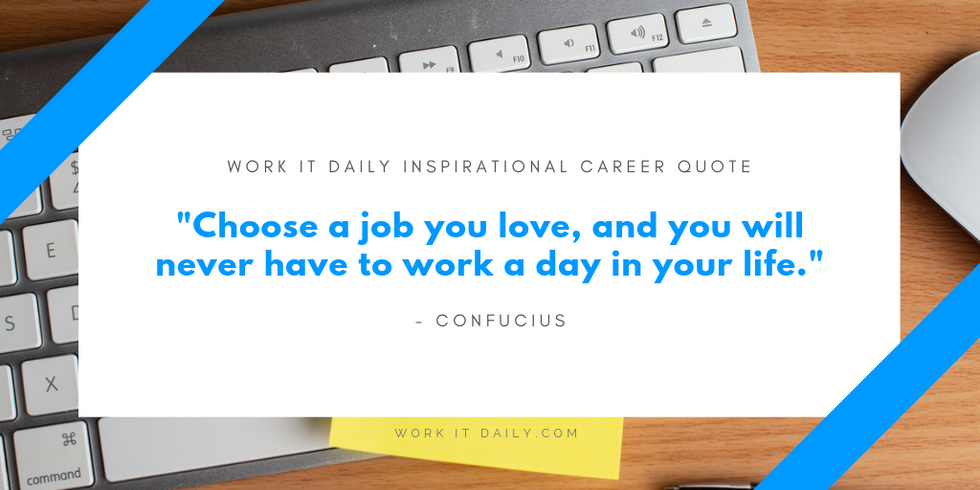 21 Inspirational Career Quotes For Professionals Work It Daily Where Careers Go To Grow