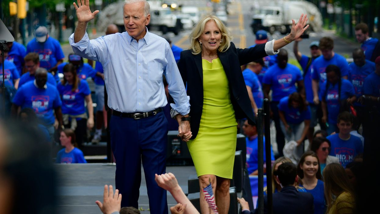 Joe Biden's wife admits he may not be the best candidate — but says Dem voters should pick him anyway