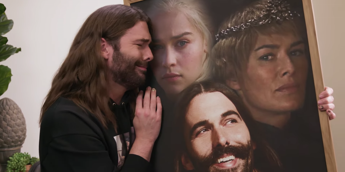 Jonathan Van Ness Plots Cersei's Emmy Win In A New 'Gay Of Thrones' Video