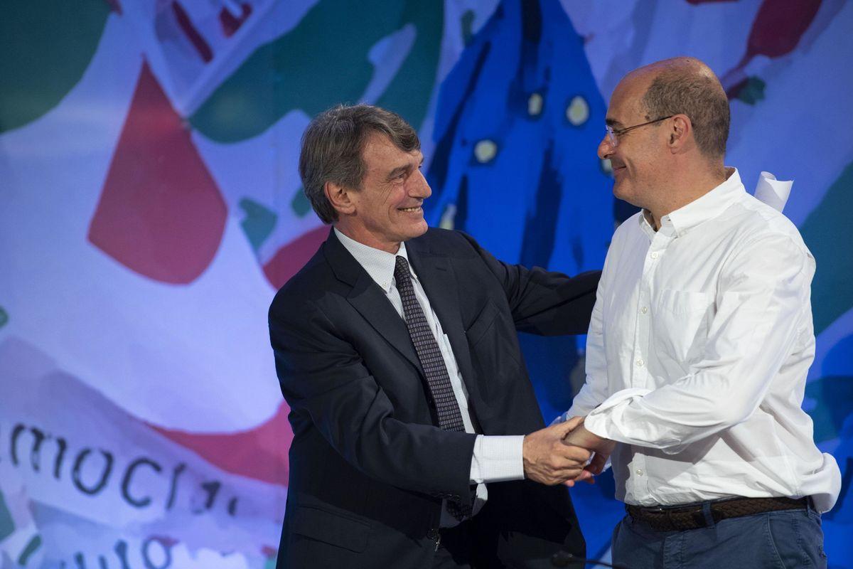 I dem sfidano i 5 stelle. Sassoli dall'Ue a Palazzo Chigi e Letta jr alla Commissione