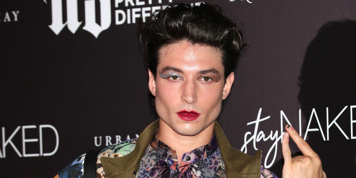 Ezra Miller Gives Coach a Softer, Domme-Top Spin
