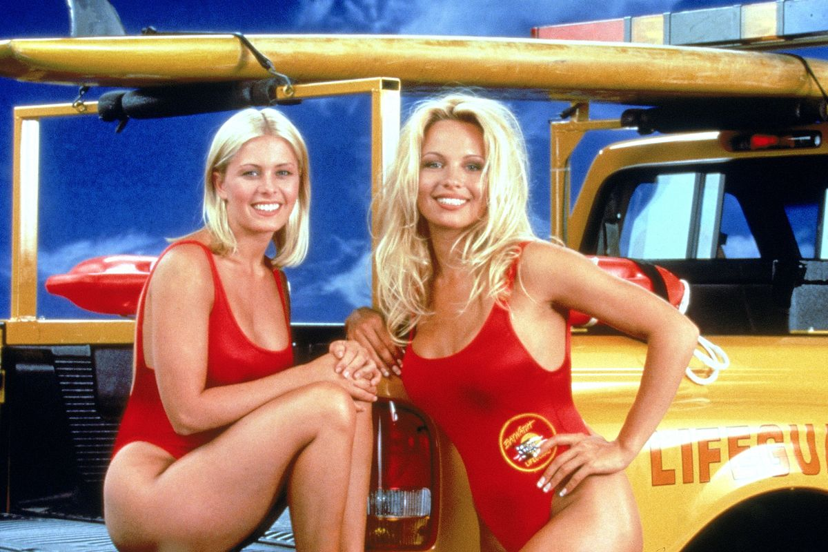 Pamela Anderson Wears Her 'Baywatch' Swimsuit For Dates