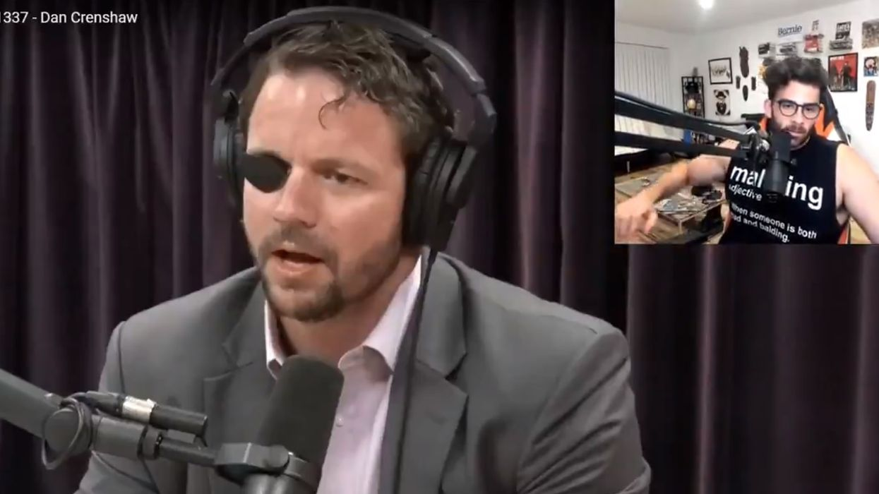 EPIC: Dan Crenshaw takes down Young Turks host who praised 'brave soldier' who 'f***ed his eye hole'