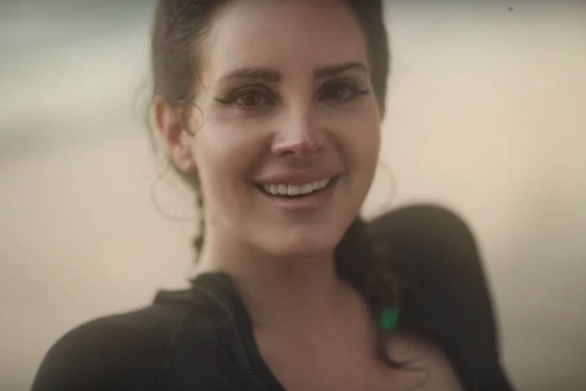 Watch Lana Del Rey Smile a Lot In Her Glorious Double Video