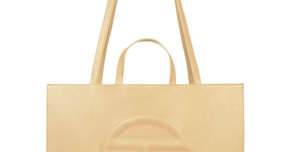 Large Cream Shopping Bag