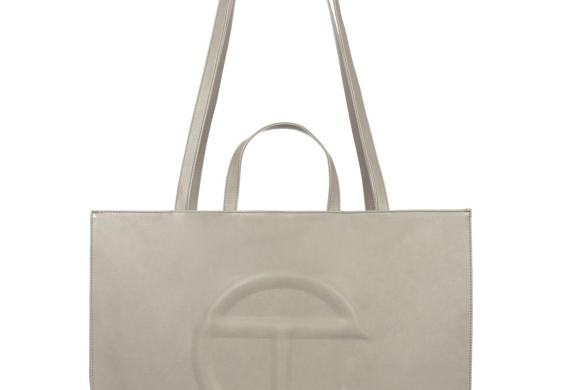 Large Grey Shopping Bag