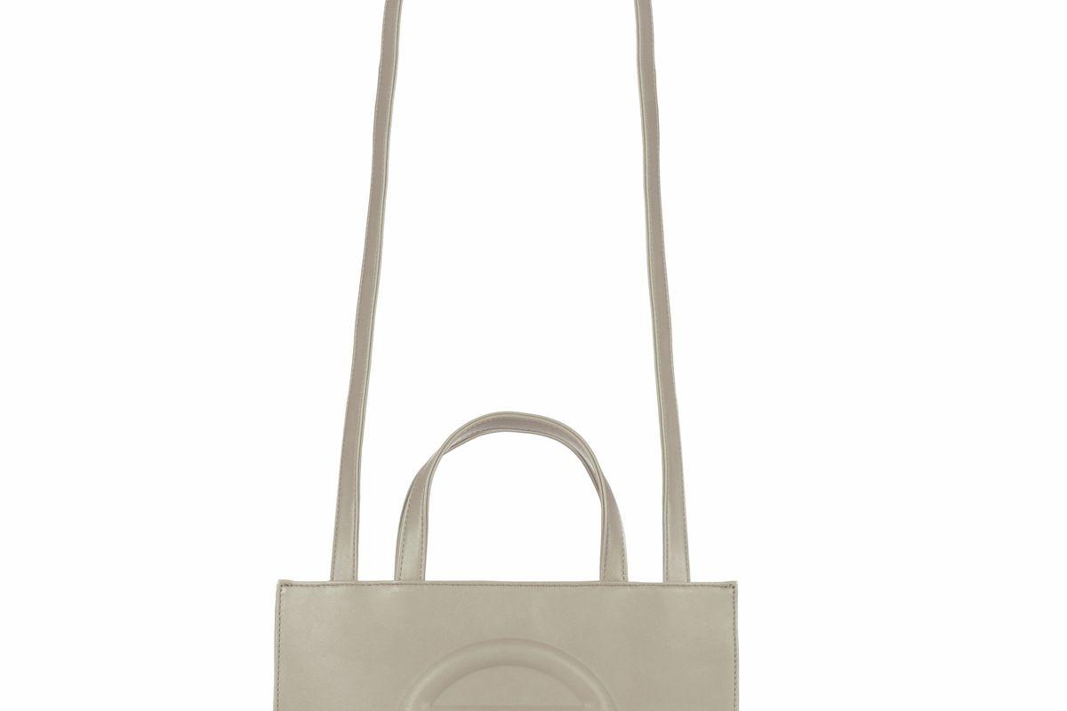 Medium Grey Shopping Bag